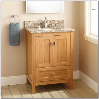 Tocador de baño de profundidad estrecha Arriba | Ideas de decoración del hogar