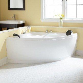 """Bañera de acrílico de esquina Kauai de 52 """"- Baño"""