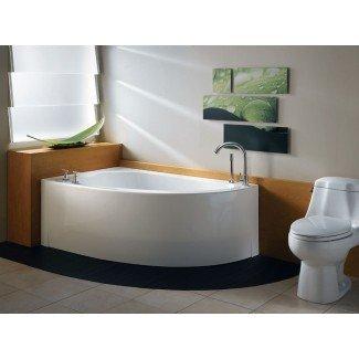 "Tina de baño Neptune Wind Corner - 59-7 / 8 ""x 35-7 / 8"" x"