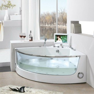 Baño de esquina: una de las mejores opciones para su