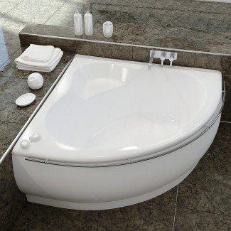 Bañeras profundas para baños pequeños que le brindan funcionalidad ...