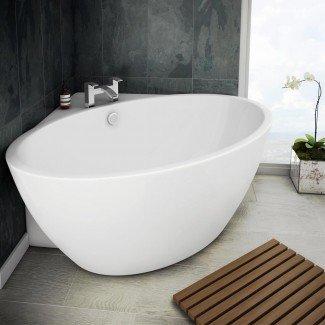 Orbit Corner Baño independiente moderno | Victorian ...