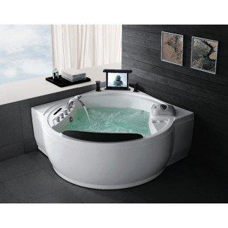 Bañera de hidromasaje de esquina: la solución perfecta para pequeños ...