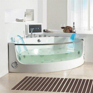 Baño. Idea de diseño moderno minimalista neutral para el baño ...