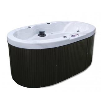 Bañera de hidromasaje de 20 chorros para 2 personas