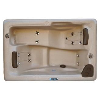 Bañera de hidromasaje Jet and Play para 14 personas, 2 personas con luz LED