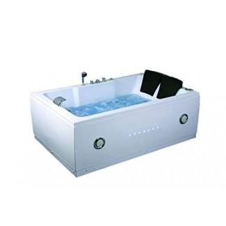 SDI Factory Direct, 2 personas, bañera de hidromasaje para interiores, bañera de hidromasaje SPA con modelo de Bluetooth 51A