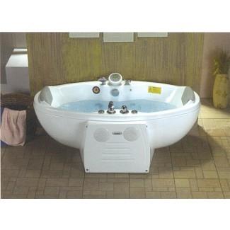 Idea de bañeras: sorprendente bañera con chorros 2 personas.
