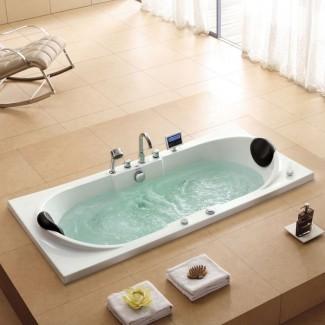 Idea de bañeras: increíble bañera de hidromasaje para 2 personas Bañeras grandes