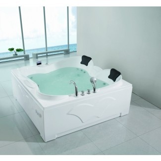Idea de bañera. impresionante bañera de hidromasaje para dos personas: dos ...