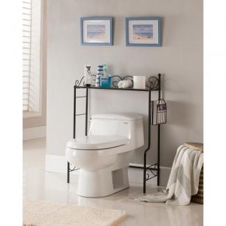 Almacenamiento sobre el inodoro - Armarios de baño y almacenamiento ...