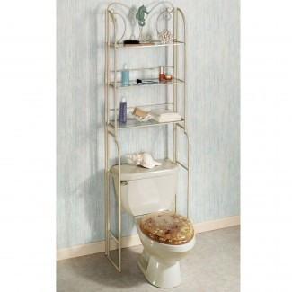 Baño: Armarios de almacenamiento para el baño Sobre el inodoro   Over The ...