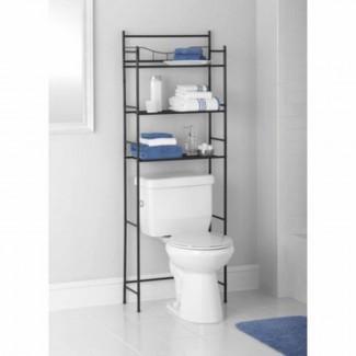 Estante de almacenamiento sobre el inodoro para el baño Ahorre espacio de 3 estantes Aceite ...