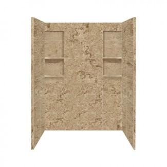 Comprar selecciones de estilo Sand Mountain Ducha de superficie sólida ...