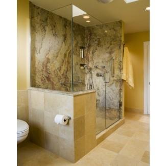 paredes de ducha de superficie sólida-espacios-contemporáneo-con-beige ...