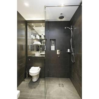 paredes de ducha de superficie sólida-espacios-contemporáneos-con-beige ...