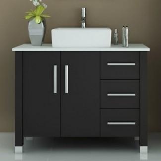 """Keanu - Mueble de baño individual de 40 """""""