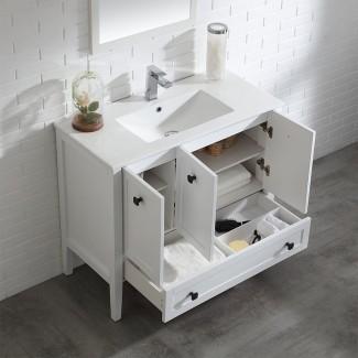 """Mueble de baño individual de 40 """"Andora Juego"""