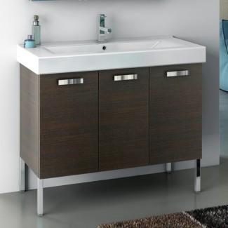 Mueble bajo lavabo de 40 pulgadas con lavabo - Contemporáneo ...