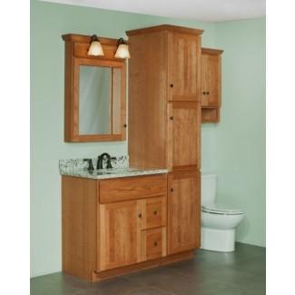 Tocadores de baño con gabinetes de lino a juego enero ...