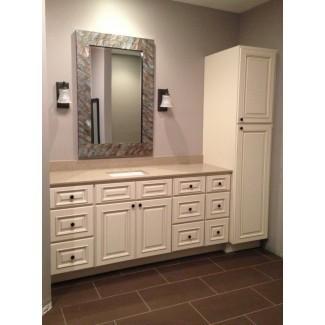 Mueble de baño y tocador de lino | Home Design Ideas