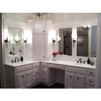 Combo de tocador de baño y gabinete de lino Modelo: más fácil para [19659010] Mueble de baño y gabinete de lino Modelo combinado: más fácil de ... </div> </p></div> <div class=