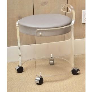 Taburete de tocador de spa con ruedas, cama, baño, más allá de los elevadores de silla