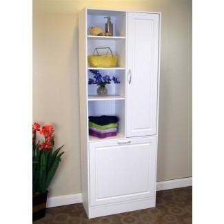 armario de lino con cesto - Roselawnlutheran