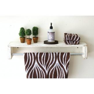 Estante flotante Mertens Simple Towel Bar