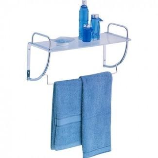 Neu Estante de baño con barra para toallas -