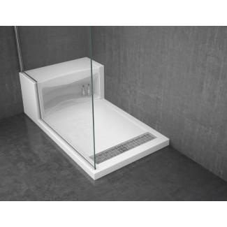 Baño: fácil de limpiar con plato de ducha de hierro fundido Kohler