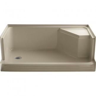 Kohler - K-9489-0 Memorias, bases de ducha blancas |