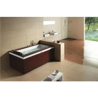 Masaje de spa de bañera de hidromasaje para una sola persona ...