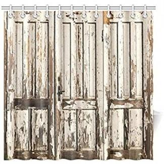 Amazon.com: CafePress - Antigua puerta de granero rústico - Decorativo