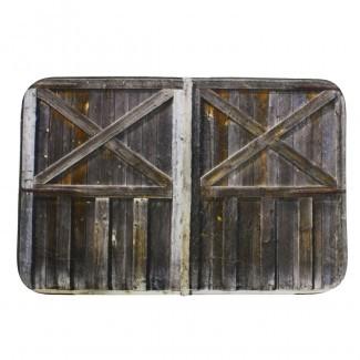 """Cortinas de baño - 70.9 """"x 70.9"""" de madera rústica"""