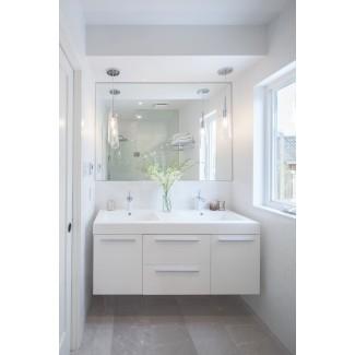 tocador-lavabo-baño-pequeño-tradicional-con-baño ...