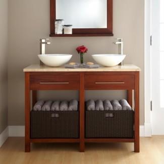 Baño: embellezca el diseño del lavabo del baño usando Cool ...