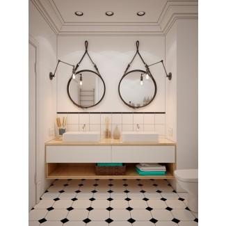 40 tocadores de baño de doble lavabo