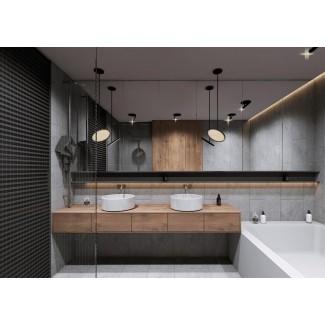 40 tocadores de baño doble lavabo