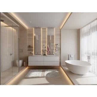 40 Vanit de baño doble lavabo ies
