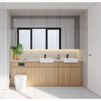 40 tocadores de baño con doble lavabo