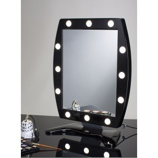 Mesa de maquillaje Espejo con 12 luces MDT Cantoni