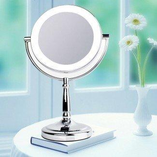 Obtén un espejo de maquillaje profesional con luces barato ...