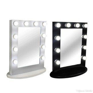 Espejo de maquillaje profesional con luces Reino Unido - Mugeek Vidalondon