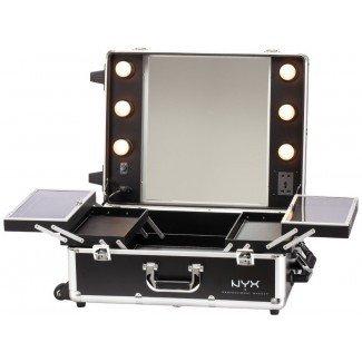 estacion-de-maquillaje-maletin-viaje-nyx-con-luz-espejo ...