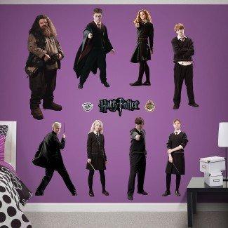 Etiqueta de la pared de Harry Potter para pelar y pegar