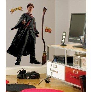 Decoración de la habitación temática de Harry Potter | Habitaciones coloridas para niños