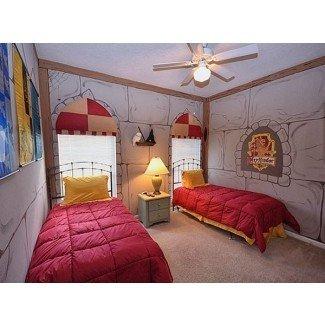 Decoración de habitaciones temáticas - Maries Manor: Hogwarts Castle