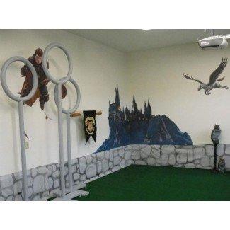 decoración de la habitación de harry potter | decorar salas de juegos para niños ...