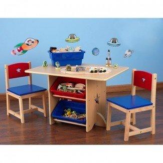 Juego de mesa y silla Star Kids de 5 piezas